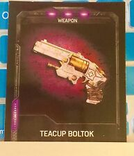 Gears of War 4 Teacup Boltok Unlock Code Gear Pack Rare