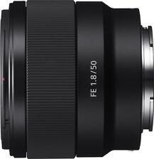 Open-Box: Sony - FE 50mm f/1.8 Prime Lens for Sony Alpha E-mount Cameras