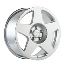 18X9.5 Fifteen52 Tarmac 5x114.3mm +25 Silver Wheels Fits 350z G35 240sx Rx8 Rx7