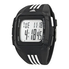 Adidas Duramo XL Digital Dial Black Rubber Mens Watch ADP6089
