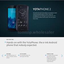 """YotaPhone 2 YD206 Dual Sreen 5""""+ 4.7"""" Smartphone 4G LTE 2.2GHz 2GB+32GB L8Y6"""