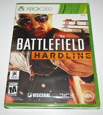 Battlefield Hardline for Xbox 360 Brand New, Factory Sealed!