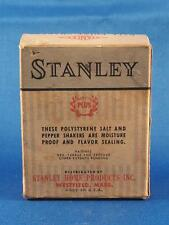 Vintage Stanley Home Products Atomic Ball Point Salt & Pepper Shaker Box
