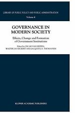 Library of Public Policy and Public Administration Ser.: Governance in Modern...
