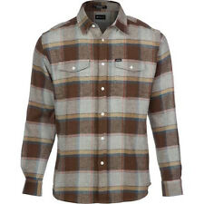 MATIX Perkins Flannel Shirt (S) Heather Grey