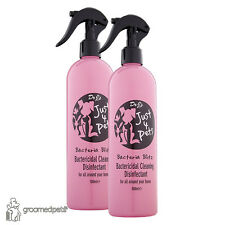 2 x Dr J's Just 4 Pets Bacteria Blitz Bactericidal Cleaning Disinfectant 500ml