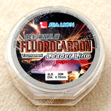 NEW Sea Lion 100% Made in Japan Fluorocarbon Leader Fishing Line 6LB 30M