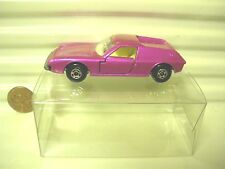 LESNEY MATCHBOX MB5A Pink LOTUS EUROPA with Silver UNPainted Base MINT Boxed*