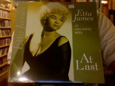 Etta James At Last 19 Greatest Hits LP sealed vinyl
