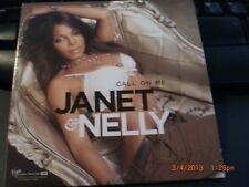 Call On Me-by Janet Jackson & Nelly-2006,R&B/Soul Promo Only CD Single in Sleeve