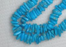 "Sleeping Beauty Turquoise Gemstone 4 to 7mm Loose Chip Beads Blue Craft 18"" 5051"