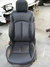 11-15 NISSAN JUKE OEM BLACK LEATHER RED STITCHES DRIVER SEAT USE 1,000 MILES