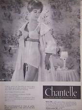 PUBLICITÉ PRESSE 1960 CHANTELLE GAINE 643 SOUTIEN-GORGE 103 - ADVERTISING