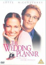 The Wedding Planner Jennifer Lopez, Matthew McConaughey, Bridgette NEW UK R2 DVD