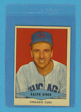 1954 Red Heart Vintage Card - Ralph Kiner Chicago Cubs (NM)
