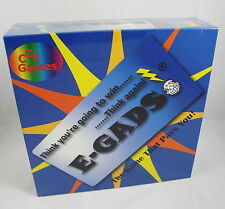 E-GADS Board Game CCI Games Luck Chance Strategy 2-4 players Family age 8-Adult