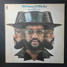 Billy Paul - 360 Degrees Of - 1972 England  Philadelphia International  Vinyl LP