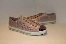 MIU MIU Studded Patent Leather Sneakers Size 41