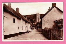 Dated 1949. Old Town and Church, Minehead, Somerset.