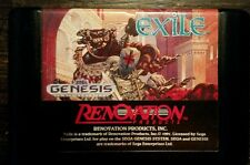 Exile Sega Genesis 1991 Cartridge Only Renovation products
