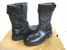 Ugg Conor Studs Black Women Boots US12/UK10.5//EU43