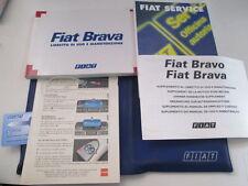 Set manuale uso e manutenzione Fiat Brava ed. 1996  [3247.14]
