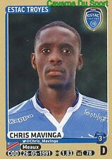 464 CHRIS MAVINGA # CONGO ESTAC TROYES KRC Genk UPDATE STICKER PANINI FOOT 2016