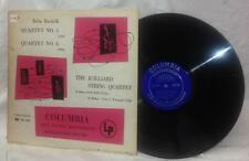 Bela Bartok Quartet No. 5 & 6 LP Julliard String Quartet Columbia Masterworks DG