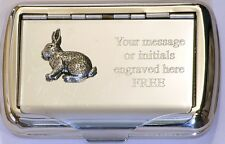 Rabbit Tobacco Hand Roll Ups Cigarette Tin Air Rifle Vermin Shooting Gift