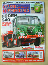 CLASSIC & VINTAGE COMMERCIALS MAGAZINE NOVEMBER 2014 RESTORED FODEN S40
