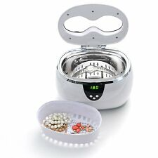 Digital Ultrasonic Jewelry Cleaner - Uses Regular Tap Water, NO Harsh Chemicals