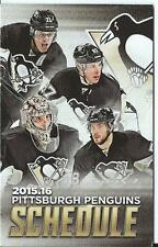 SYDNEY CROSBY PITTSBURGH PENGUINS SCHEDULES 2005-2016 X 10