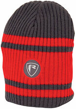 FOX Rage Red Grey Beanie Hat - NPR168