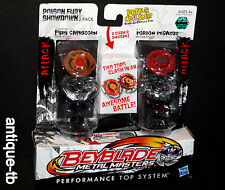 BEYBLADE METAL MASTERS FURY CAPRICORN POISON PEGASUS HASBRO 2011 NEW SHOWDOWN