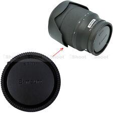 Cámara Trasera Tapa De Objetivo Rear Lente para Sony Micro SLR E FE SEL Monte