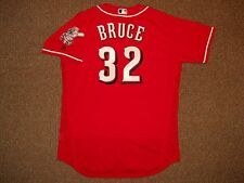 Jay Bruce Cincinnati Reds Red Flex Base Authentic Jersey sz 48 Majestic w/ tags