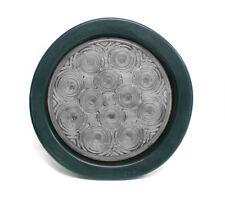 """4"""" Round White LED Back Up Tail Marker Light DOT solar Reverse"""