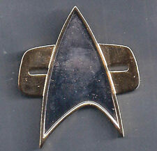 Star Trek Voyager Communicator Gold Jacket Pin- Mini Size  1/2""