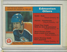 1982-83 OPC #99 WAYNE GRETZKY SCORING LEADERS NICE CARD