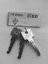 ISEO KEYS CUT TO NUMBER/CODE VBE AND LCE
