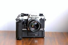 NIKON FA Profssional SLR  w/ Nikkor 50mm f/1.4 Lens * Great Condition * FM2, F2