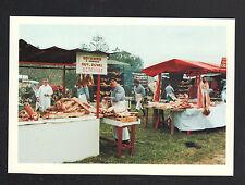 BRIX (50) MARCHAND ROTISSERIE D'AGNEAU d'OCTEVILLE à la FOIRE ST-DENIS en 1989