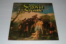 Andres Segovia~Serenade~1975 Intercord 64 932~IMPORT~FAST SHIPPING