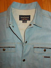 Denim Jean Jacket 2XL Mens Blue Trucker Coat XXL Phat Farm 4D96