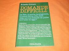 ernesto olivero domande difficili cittànuova 1987