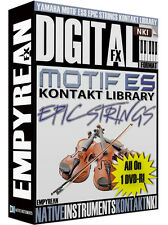 Yamaha Motif ES-8 EPIC Strings Kontakt Library Orchestral Sounds NKI Samples