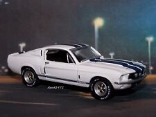 1967 67 FORD SHELBY GT500 MUSTANG 1/64 SCALE COLLECTIBLE MODEL DIORAMA / DISPLAY