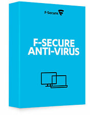 F-Secure Antivirus 2017 2 PC ( User ) 1 Year License Key over Mail ( Download )