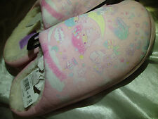 LITTLE TWIN STARS SLIPPERS - SANRIO - AUTHENTIC JAPAN - PLUSH - NEW