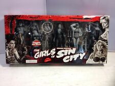 NECA Reel Toys Frank Millers Girls of Sin City Figures set of 5, 2005 Miramax
